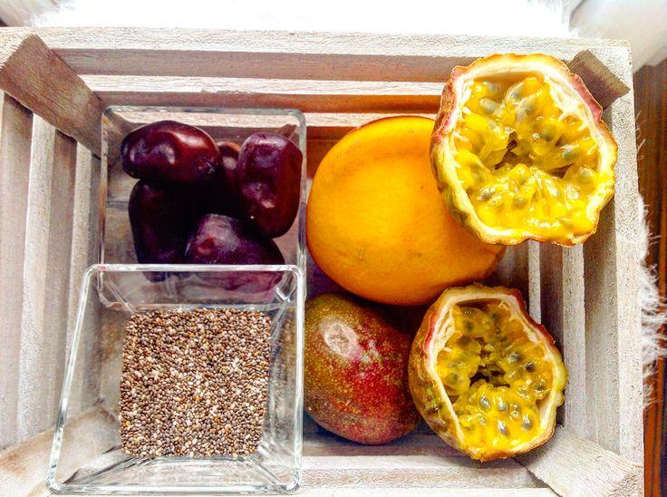 SMOOTHIE  http://les-kifs-de-sandra.com/smoothie-passion/ #smoothie #fruits
