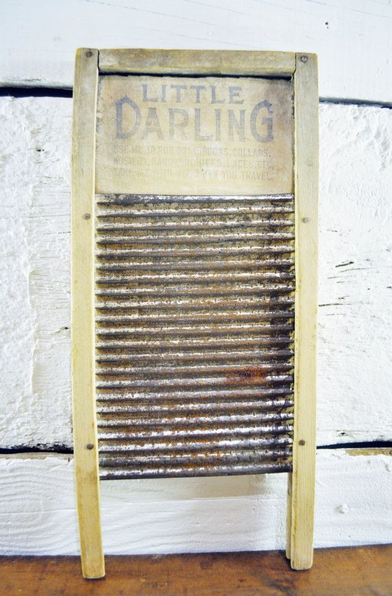 Vintage Old Washboard Laundry Room Decor Vintage by lynneandmarie, $30.00