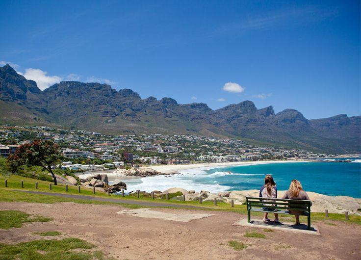 Camps Bay - beautiful views of the beach! #Africa #SouthAfrica #CapeTown