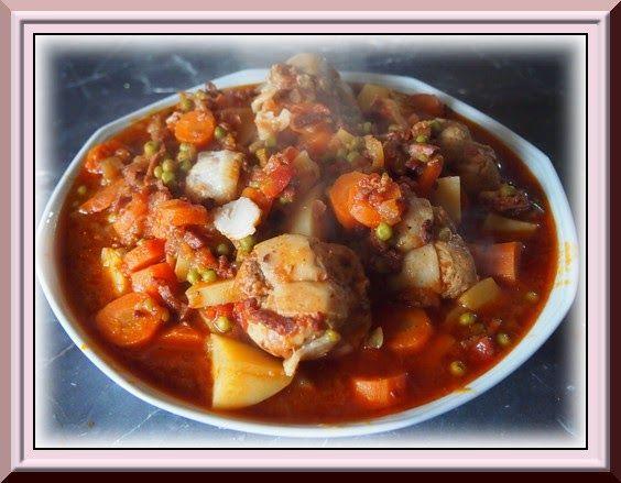 Nattycuisine: Paupiette de dinde aux petits légumes Ww (Cookeo)