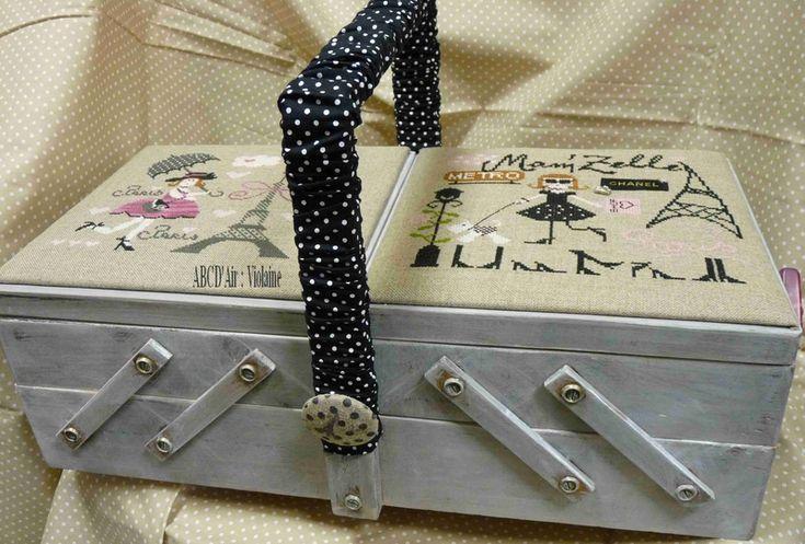 1000 id es sur le th me travailleuse couture sur pinterest for Travailleuse boite couture ancienne