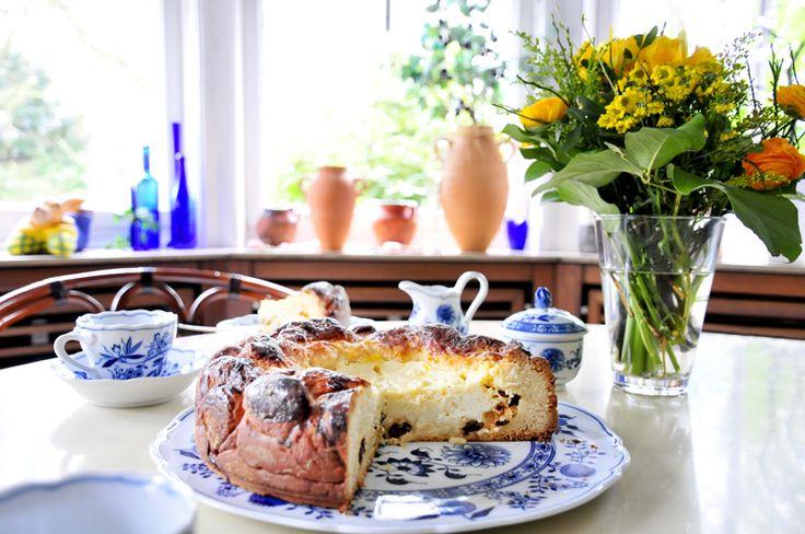 miss red fox- Pasca - Rumänischer Osterkuchen - Ostern - Romanian Easter cake