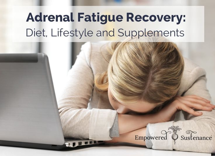 The adrenal fatigue recovery guide, explaining symptoms, causes, diet, lifestyle and supplements