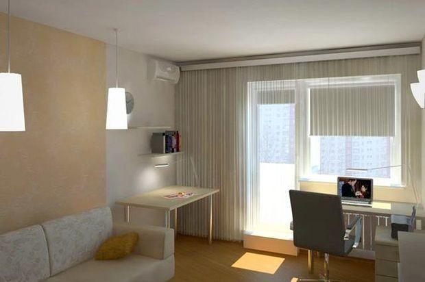 Во многих квартирах гостиная с рабочим местом стала непременным атрибутом оформления помещения. Организация места для работы в гостиной комнате зачастую мера вынужденная. Особенно распространенная в небольших квартирах из двух или трех комнат. Поскольку многие люди устраивают такую зону в гостевых помещениях. Учитывая, что пространство гостиной небольшое, следует ограничиться удобной и простой мебелью, которая позволит нормально работать.   #строители #поиск_строителей_украины