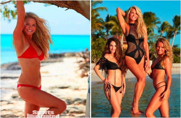Sexy : à 63 ans, Christie Brinkley pose en bikini avec ses filles