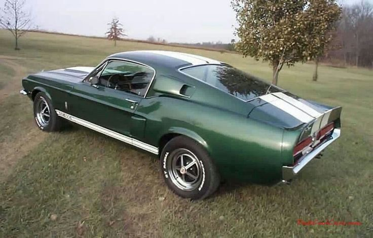 1967 Ford Mustang Shelby 500 GT.