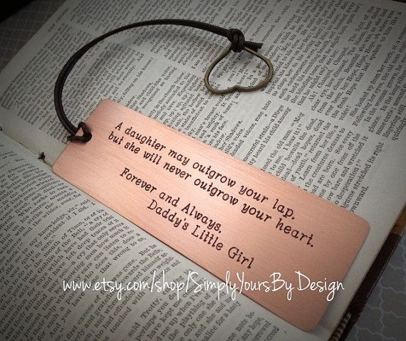 Personalized Metal Bookmark - Father of the Bride Gift - Father of the Groom Present - Mother of the Bride Gift - Mother of the Groom Gift https://www.etsy.com/listing/193471120/personalized-wedding-bookmark-father-of?ref=shop_home_active_2