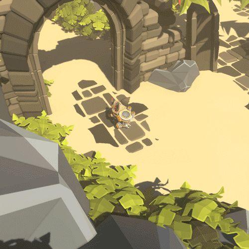 Melting, shader, 3D, fox, car, jungle, temple, exploration, animation, animation …   – .GameArt