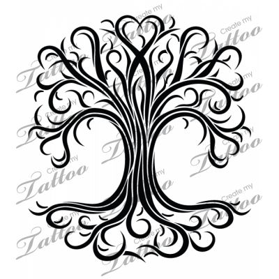 1000 images about vine tattoo designs on pinterest the ribbon tree of life and green rose. Black Bedroom Furniture Sets. Home Design Ideas