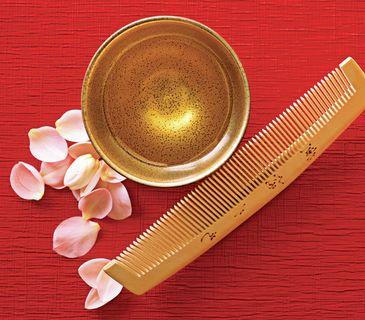 Japanese hair gloss