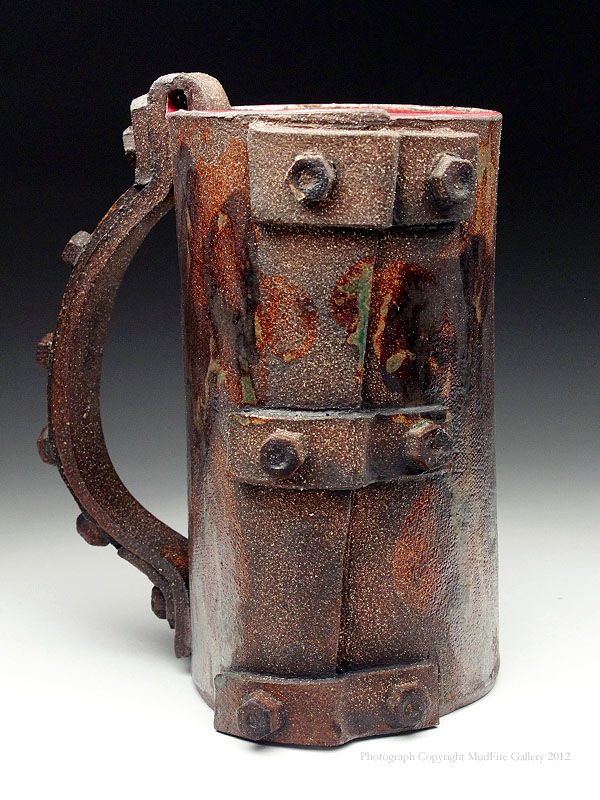 Lev Sharapan Tankard at MudFire Gallery