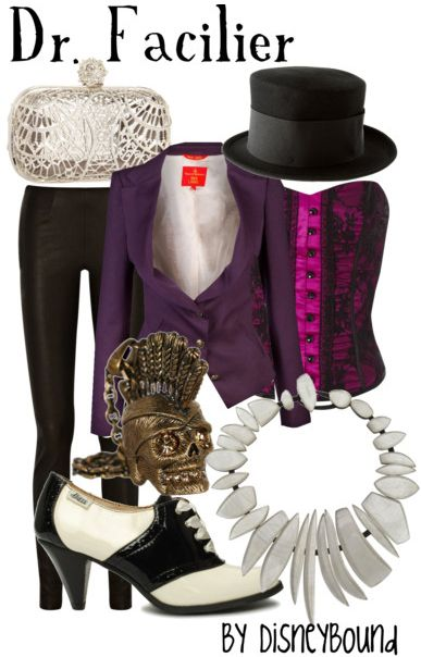 This site has some wonderfully quirky, fun and real world wearable outfits inspired by Disney. Dr. Facilier would make a great costume.