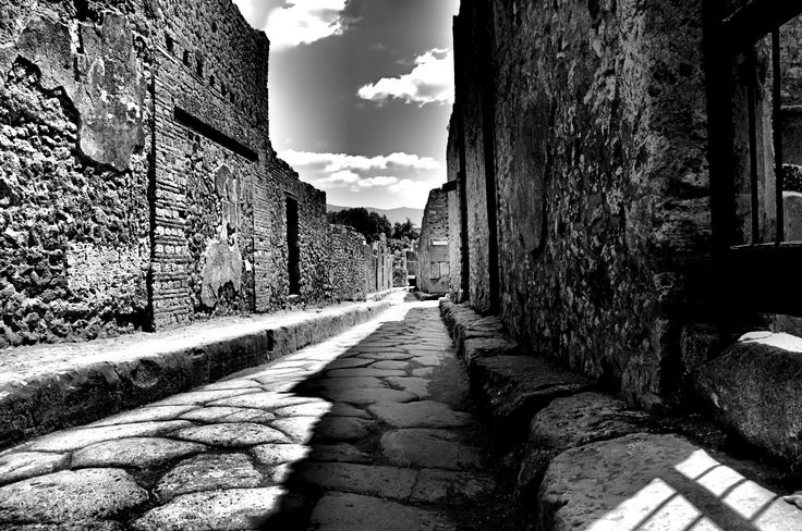 pompei road by Ferenc Verebélyi on 500px