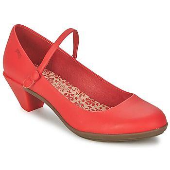 Diese bequemen #pumps in knalligem #rot von @campershoes gibt es jetzt reduziert im #sale bei @spartood. #leder #damenschuhe
