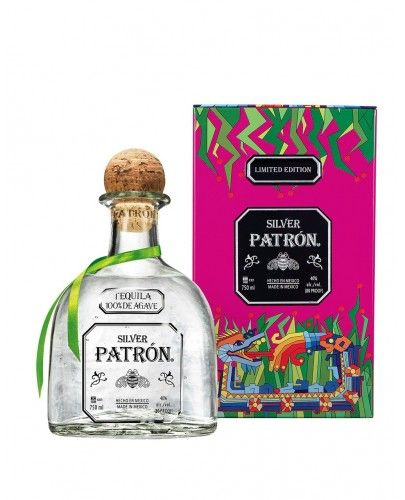 PATRON LIMITED EDITION MEXICAN HERITAGE TIN TEQUILA (750 ML)