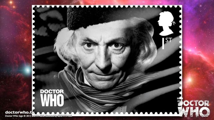 Doctor Who Royal Mail stamp set | Gallery | Doctor Who First Doctor: William Hartnell