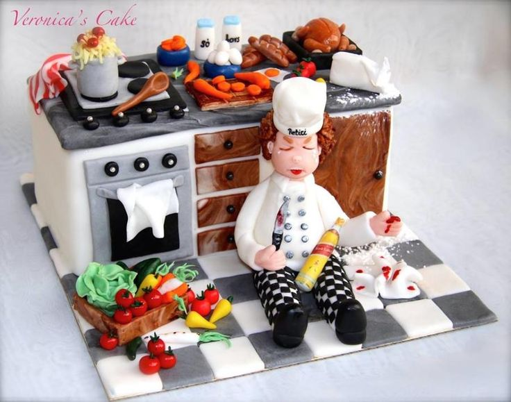 Funny cook cake by Veronica22
