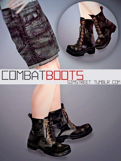 Combat Boots by Simonstercity