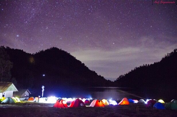 Milkyway, Ranukumbolo, MT. Semeru, Eastern java, Indonesia