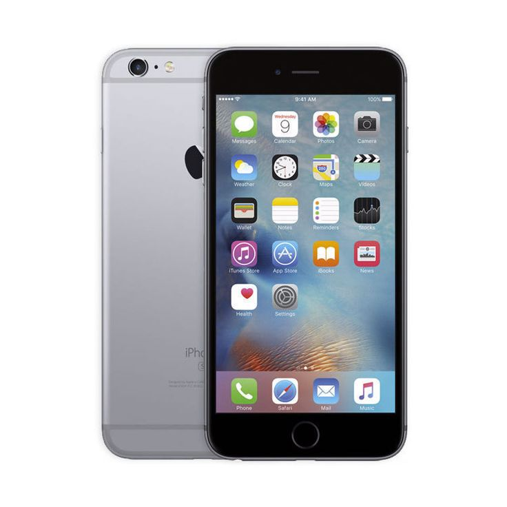 Refurbished iPhone 6S Space Gray AT&T 16GB