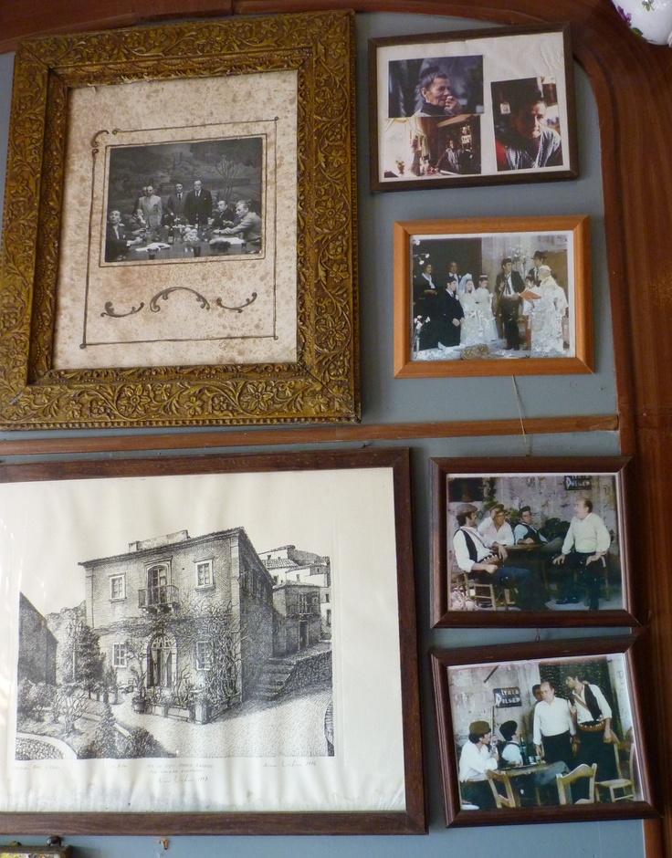 BAR VITELLI - Savoca, Sicily, Location for The Godfather movies