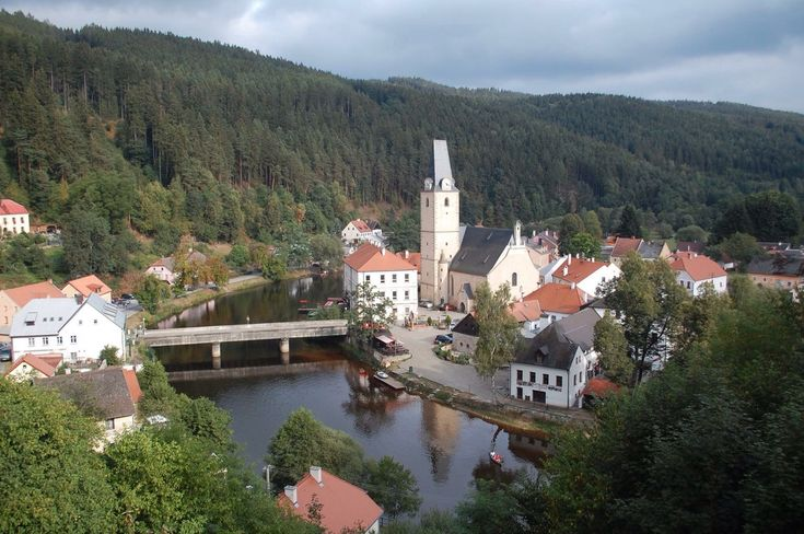 Rožmberk nad Vltavou, Czech Republic — by David Wildridge
