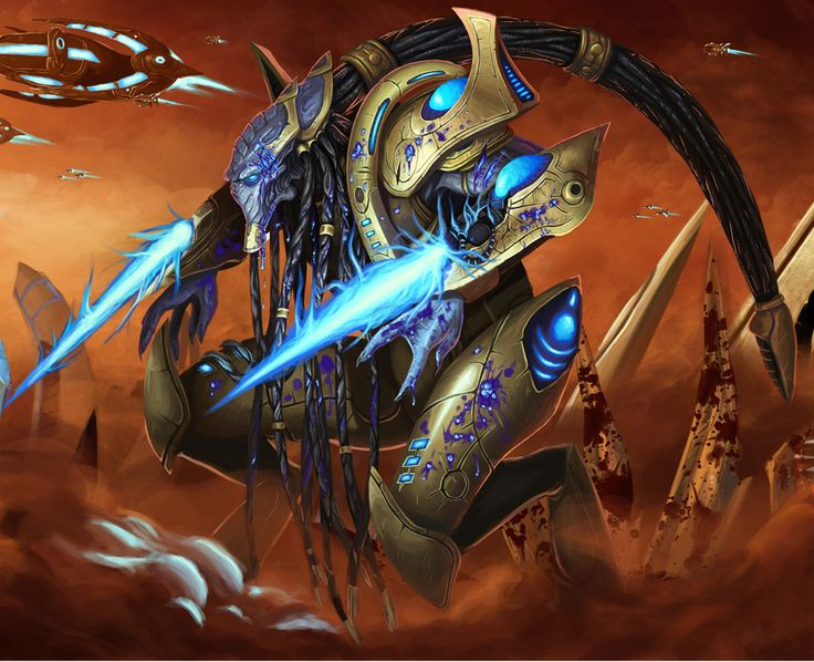Injured #Protoss Zealot by Bugball. #Starcraft