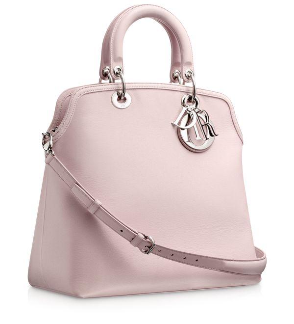 #DIOR GRANVILLE Foulard-coloured leather 'Dior Granville' bag<3