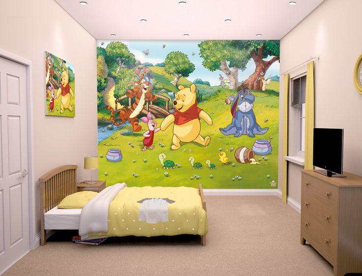 disney wallpaper for bedrooms. Disney Winnie the Pooh Wallpaper Mural  Tigger Piglet 28 best 12 Panel Murals images on Pinterest
