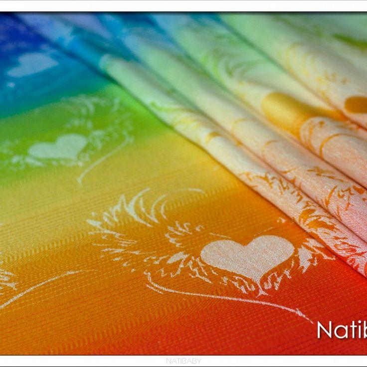 Wings Of Love Rainbow White
