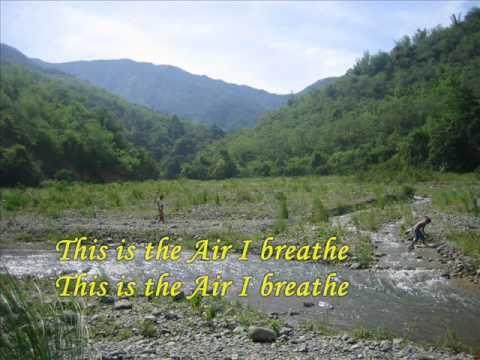 this is the air i breathe lyrics pdf