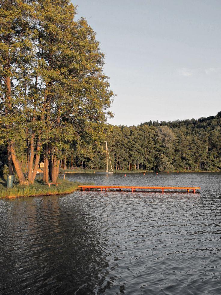 Lake in Ostrzyce - Poland