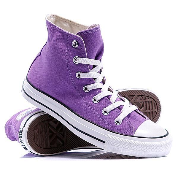 Фиолетовые кеды фото