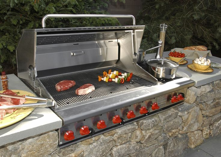 milford ma showroom outdoor barbeque grill stone garden