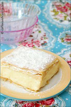 Napoleonka / Kremówka - Polish Custard Cream Pastry