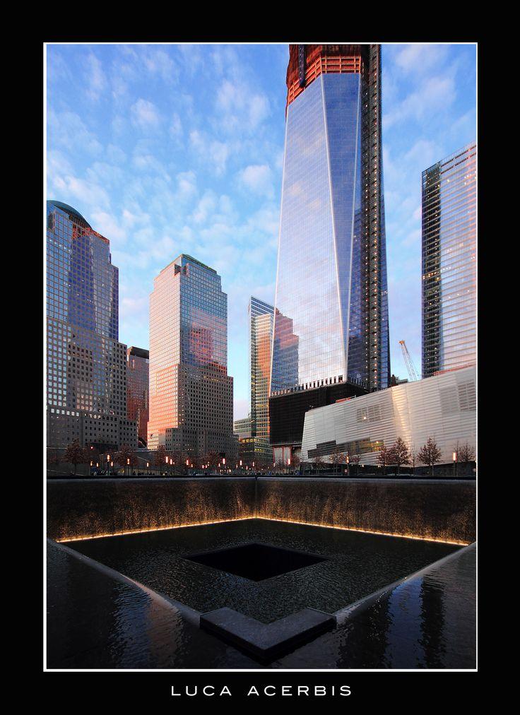 Photographer Luca Acerbis. New York. Ground Zero.