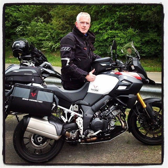 """@Hotel Sassor's photo: """"#AxelSassor #SWMotech #BagsConnection #Suzuki #SuzukiVStrom1000 #Bike #Bikes #Motorrad #Motorräder"""""""