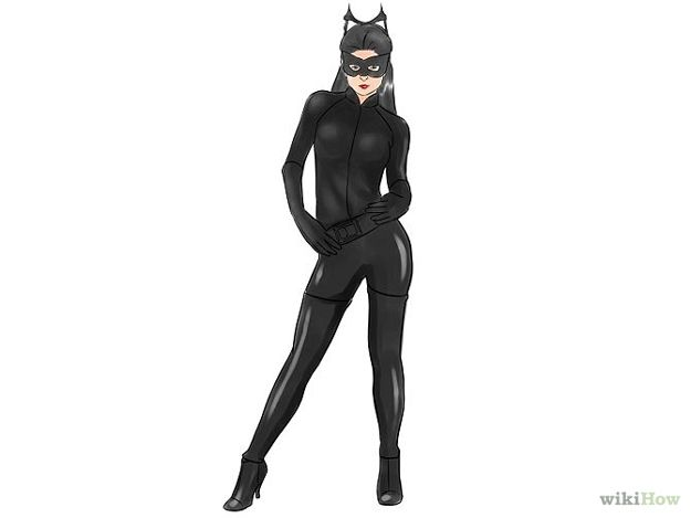 catwoman costume halloween express