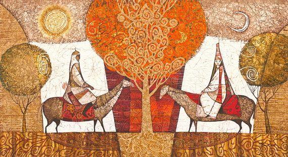 Tree of Love by IsmaArt on Etsy, $1950.00