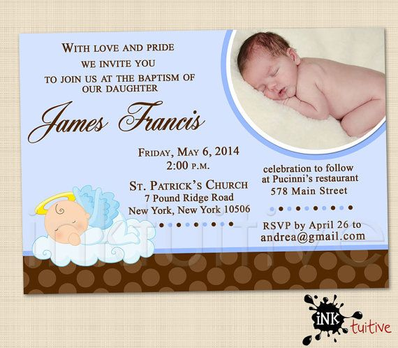 31 best Baptism Invites images on Pinterest Baptism ideas Cards