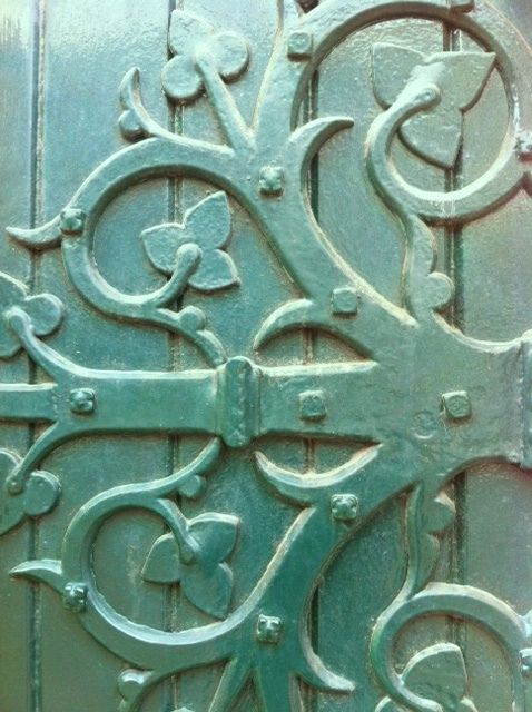 Wokingham Town Hall Ornate Green Door Detail by annabelfarleyphotography, via Flickr