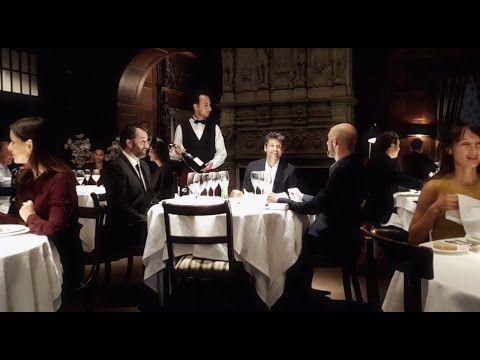 Patrick Dempsey's way of... having dinner. - YouTube