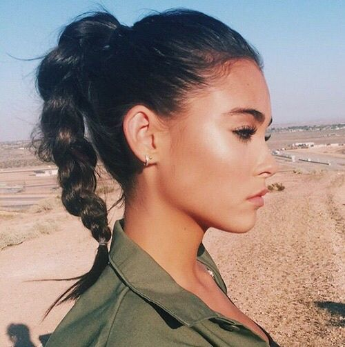 girl, madison beer, and hair image