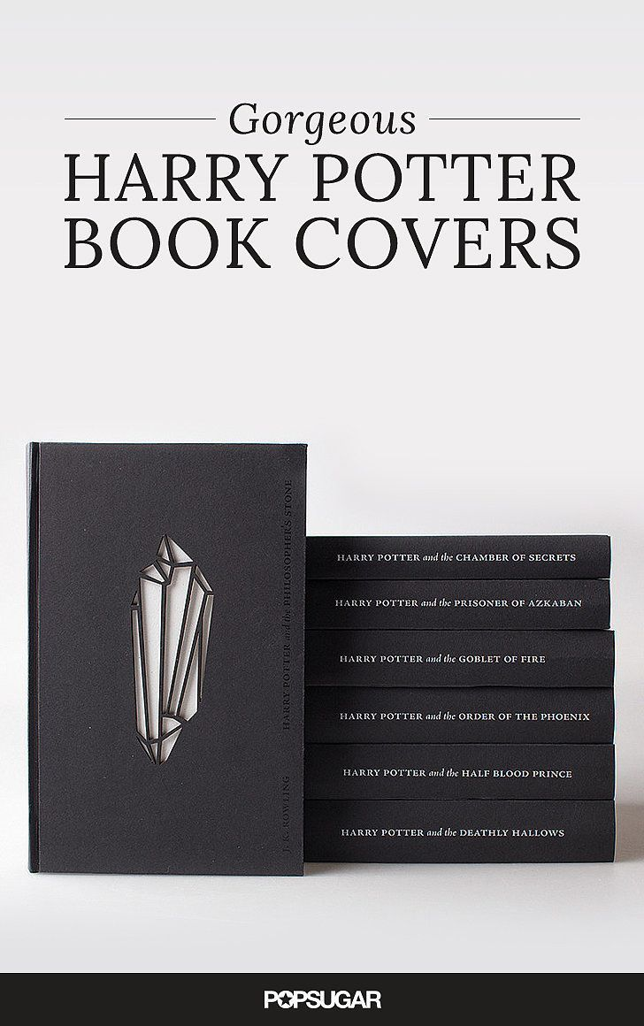 Harry Potter Book Cover Replacement ~ The prettiest harry potter book covers in all universe