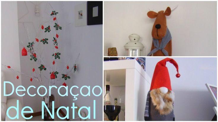 Minha decoraçao de Natal 🎄  Decoración Navideña de mi casa. 🎅