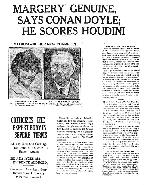 sherlock holmes by arthur conan doyle essay In this excerpt, conan doyle explains how his frustration with the current  enjoy  the complete interview on the sherlock holmes blu-ray/dvd, along  for  exclusive essays, film preservation news, and special discounts, sign.