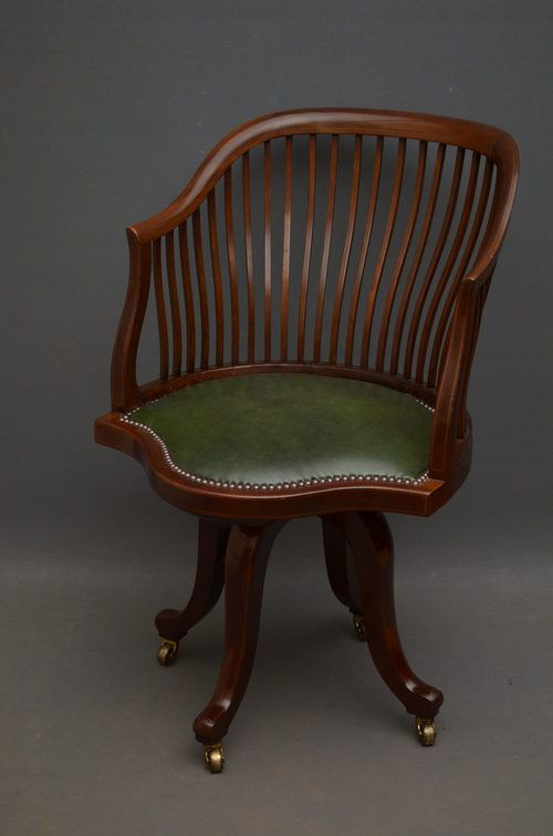 Edwardian office chair...another idea for desk chair from previous - 139 Best My Fair Lady Prop Research Images On Pinterest Fair