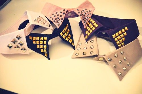 One of my very good friends is a Fashion Genius! Define Chic Blog DIY: Button Collar Tips w/ Chain