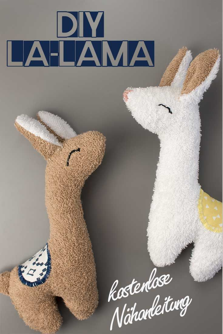 DIYLA-LAMA! Kostenlose Nähanleitung mit Schnittmuster