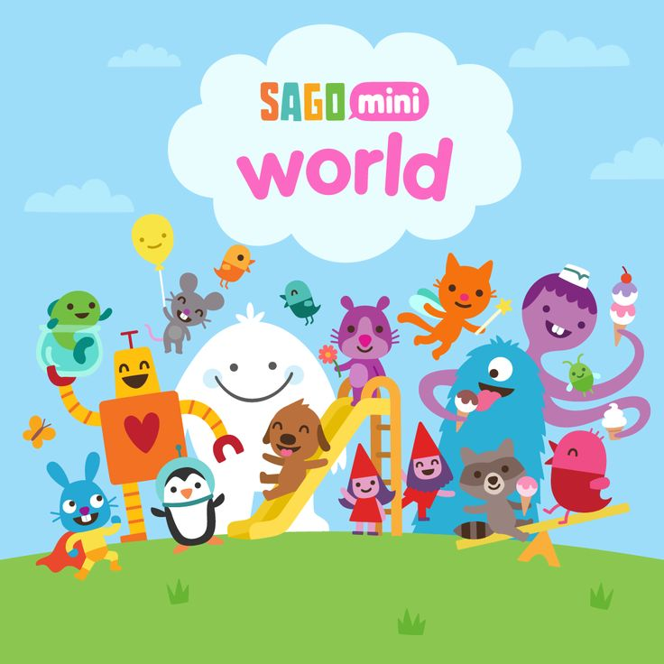 NEW APP: Sago Mini World! Play our complete collection of games, in one magical app.